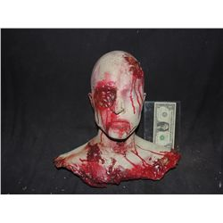 FULL FEMALE BLOODY HEAD AND BUST