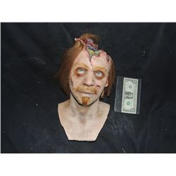 DANCE OF THE DEAD SCREEN USED CICTIM HEAD BUST