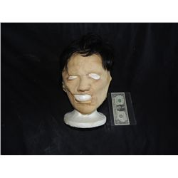 TEXAS CHAINSAW MASSACRE LEATHERFACE MASK WITH HAIR