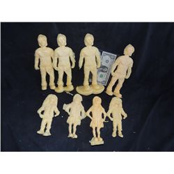 COLLECTION OF MINIATURE FAMILY CASTINGS NO RESERVE!
