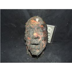 I AM LEGEND BURNED ZOMBIE HEAD