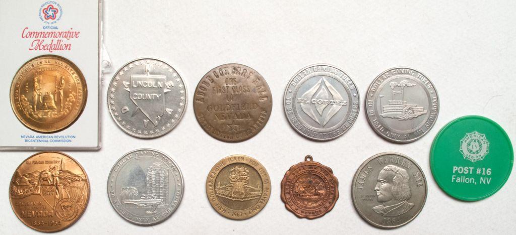 Nevada State Centennial Lincoln County Coin