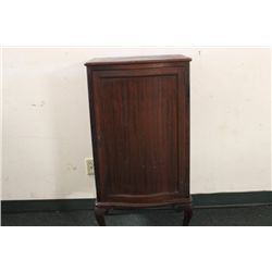 BEAUTIFUL MAHOGANY SHEET MUSIC CABINET WITH EIGHT