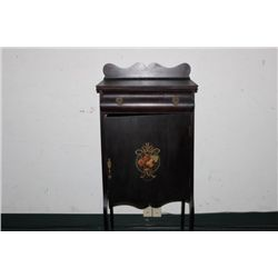 SHEET MUSIC CABINET IN MAHOGANY WOOD 4 SHELVES AND 1