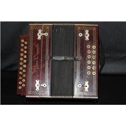 WONDERFUL MILANO ORGANELLES ACCORDION IN ROSEWOOD CASE