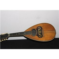 NICE MANDOLIN - MISSING ONE STRING - WITH INLAY