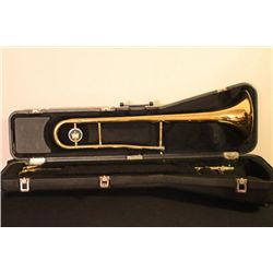 NICE TROMBONE BY KING WITH ORIGINAL CASE