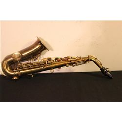 NICE CONDITION BUSCHER ELKHART LOW PITCH SAXOPHONE