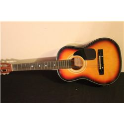 THREE-QUARTER SIZE ACOUSTIC HARMONY GUITAR HANDMADE IN