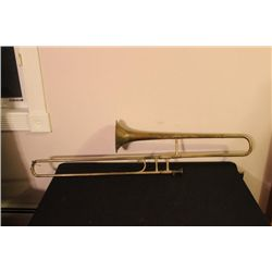 BRASS TROMBONE MADE BY F.E. OLDS LOS ANGELES 1912