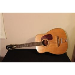 FULL SIZE REGAL ACOUSTIC GUITAR - GOOD CONDITION