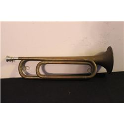 """EXC. BRASS TRUMPET - GREAT COLOR TONE - 17"""" LONG"""