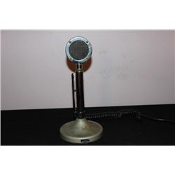 ASTATIC SILVER EAGLE MICROPHONE COMPLETE W/ FEED LINE &