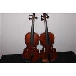 2 VIOLINS FOR REPAIR OR RESTORATION - 1 E. MARTIN