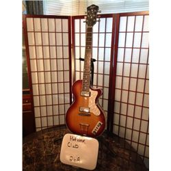 Single-cut semi-hollowbody ,Body Wood: Flamed maple