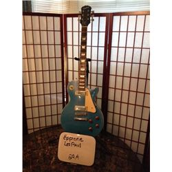 Epiphone les Paul Deluxe Pelham Blue limited edition