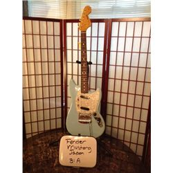 USED Fender Japan Mustang MG69MH Electric Guitar Robin