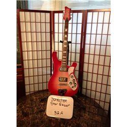 the Stargazer electric guitar provides a unique blend