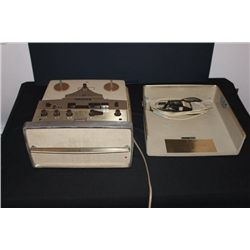 VINTAGE VOICE OF MUSIC PORTABLE REEL TO REEL