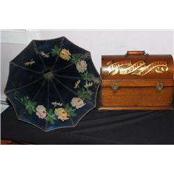 WONDERFUL EDISON HOME PHONOGRAPH COMPLETELY DOVETAILED