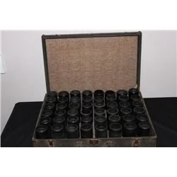EDISON CYLINDER CASE FULL OF 48 ALL GOOD PLAYABLE