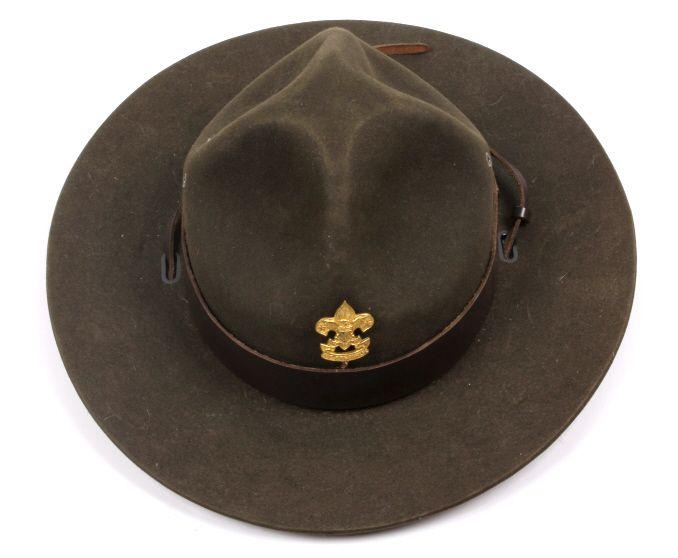 52eb8c0cc51a3 ... Image 4   Boy Scout Master Stetson Hat ...