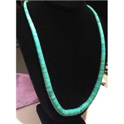 Turquoise Graduated Beaded Necklace