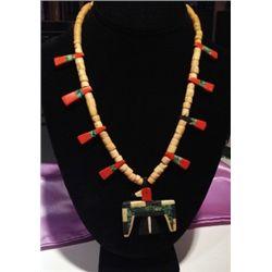 Santa Domingo Thunderbird Necklace