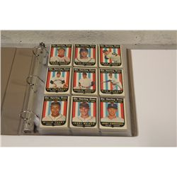 1959 TOPPS BASEBALL PARTIAL SET INCLUDES 190 CARDS OF 572 CARD SET OVERALL IN VG/EX CONDITION