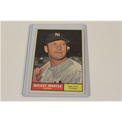 1961 MICKEY MANTLE YANKEES #300