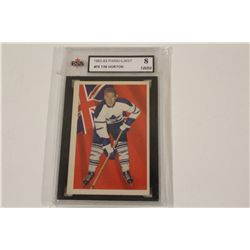 1963-64 PARKHURST #76 TIM HORTON KSA GRADED 8