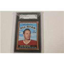1966-67 TOPPS #127 JEAN BELIVEAU SGC GRADED 84 NM