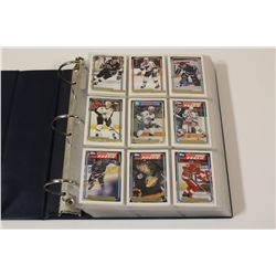 1992 TOPPS HOCKEY GOLD FOIL INSERT, COMPLETE SET IN HIGH GRADE