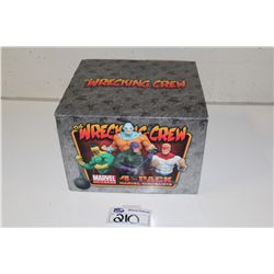 MARVEL MINI BUST 4 PACK- THE WRECKING CREW, NEW IN BOX 494/500