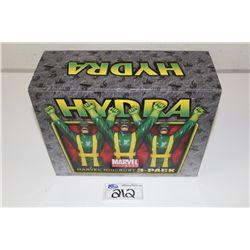 MARVEL MINI BUST 3 PACK-  HYDRA, NEW IN BOX 752/1000
