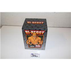 MARVEL MINI BUST-  BI-BEAST, NEW IN BOX 473/500