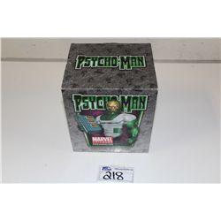 MARVEL MINI BUST-  PSYCHO-MAN, NEW IN BOX 312/500