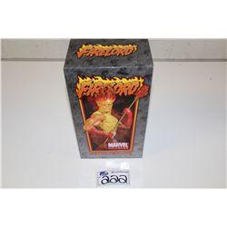 MARVEL MINI BUST-FIRELORD,  NEW IN BOX 846/1500