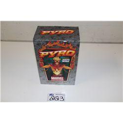 MARVEL MINI BUST-PYRO,  NEW IN BOX 328/600