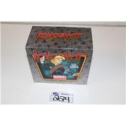 MARVEL MINI BUST- LONGSHOT,  NEW IN BOX 413/500