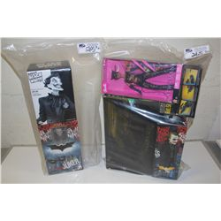 2 BAGS OF ASSORTED BATMAN, JOKER AND CATWOMAN, NEW IN BOX TOYS