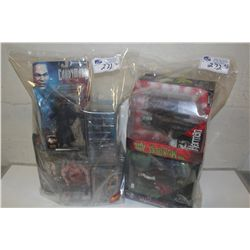 2 BAGS OF ASSORTED FRANKENSTEIN AND MOVIE, NEW IN BOX TOYS