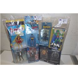 2 BAGS OF ASSORTED DC ACTION FIGURE, NEW IN BOX TOYS