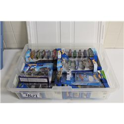 HOT WHEELS RUBBERMAID CONTAINING MINT ON BOARD 2004-06 5 PACK SPECIALS