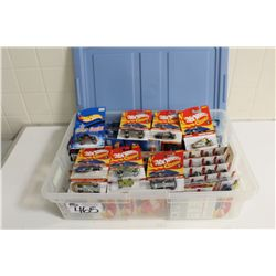 HOT WHEELS RUBBERMAID CONTAINING 80+ MINT ON BOARD 2004-06 SPECIAL CLASSIKS