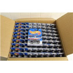 HOT WHEELS FACTORY BOX CONTAINING 81 MINT ON BOARD 1941 FORD'S