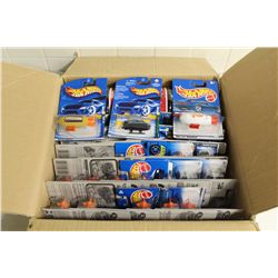 HOT WHEELS FACTORY BOX CONTAINING 27 MINT ON BOARD CHOPPERS AND SUBS