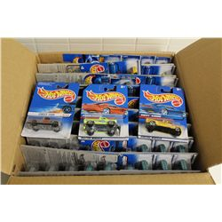HOT WHEELS FACTORY BOX CONTAINING 73 MINT ON BOARD CHEV TRUCKS