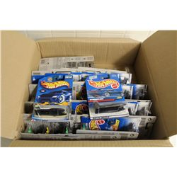 HOT WHEELS FACTORY BOX CONTAINING 30+ MINT ON BOARD HYDROJET, HYDROPLANE
