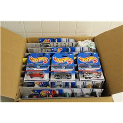 HOT WHEELS FACTORY BOX CONTAINING MINT ON BOARD 1998-99 SETS